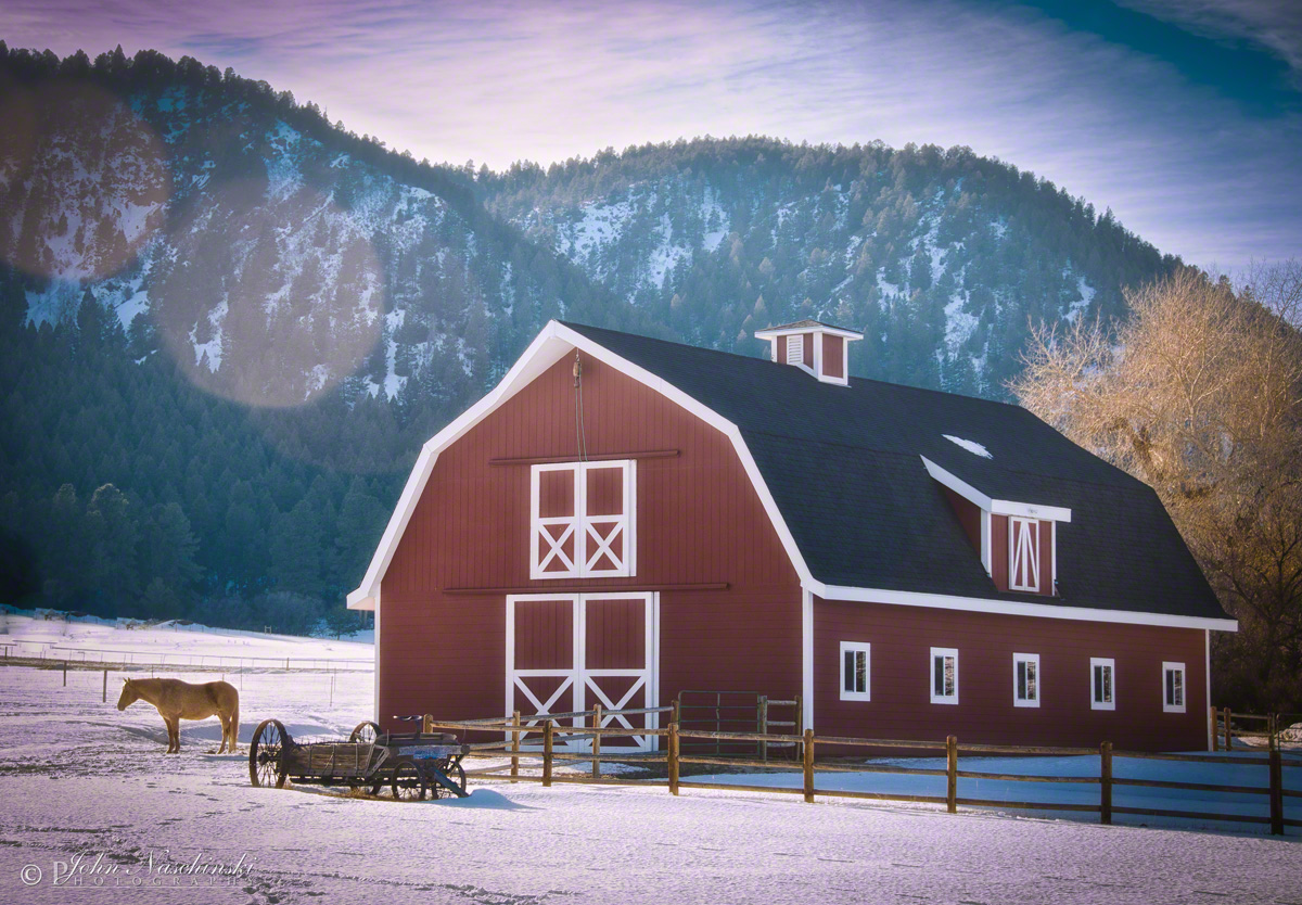 Perry Park And Larkspur Colorado Barn