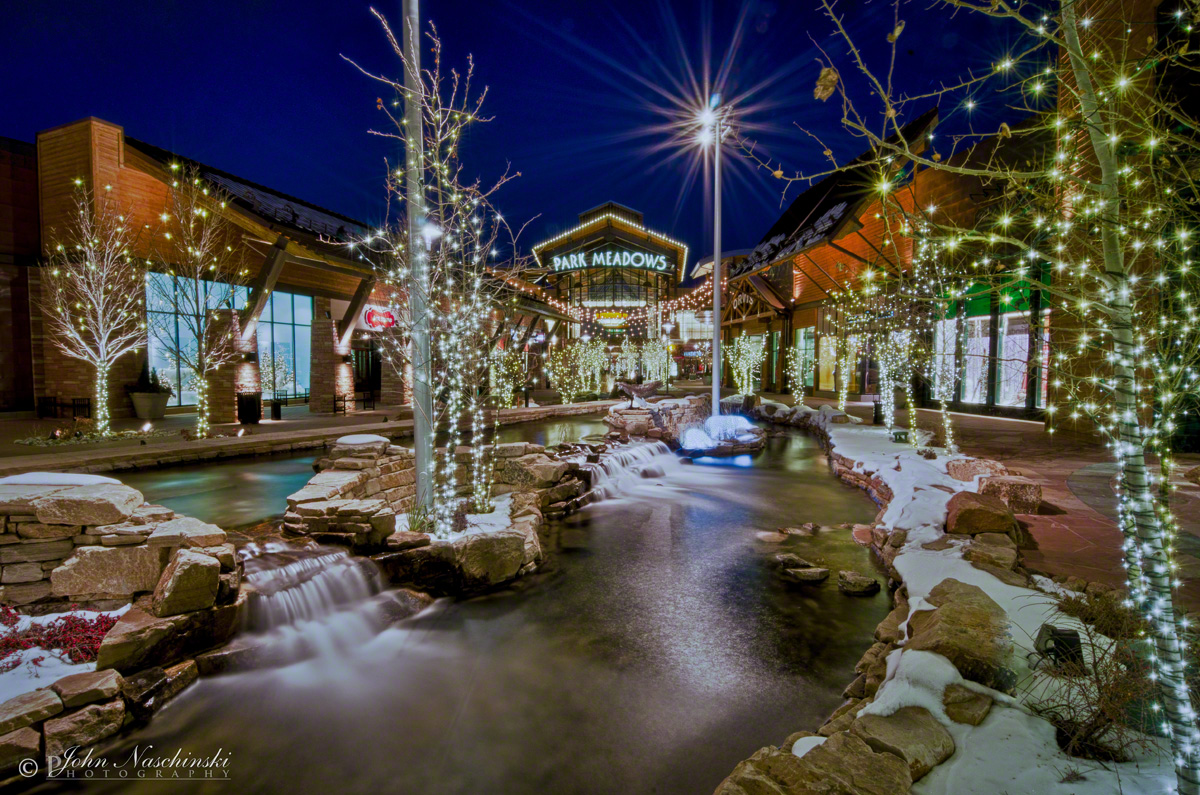 pictures of park meadows mall at christmas - Colorado Christmas