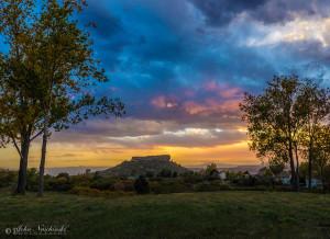 Castle Rock Colorado Fall Colors 1