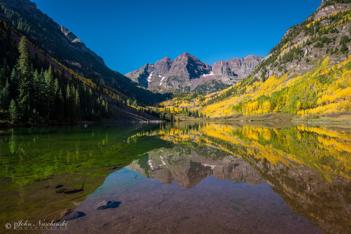 maroon bells lake at - photo #8