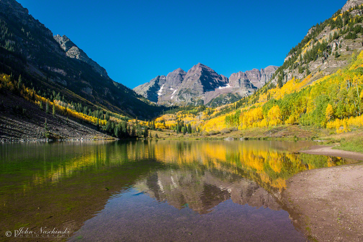 maroon bells lake at - photo #10