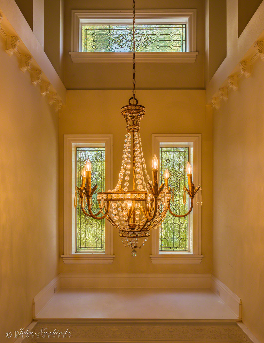 Luxury Foyer Lighting : Luxury denver home chandelier over foyer scenic colorado