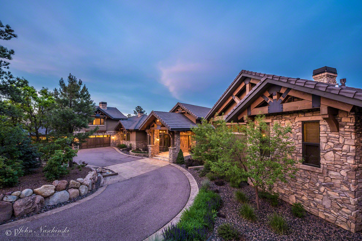 Architectural Photography Luxury Home Colorado Springs - Colorado springs luxury homes