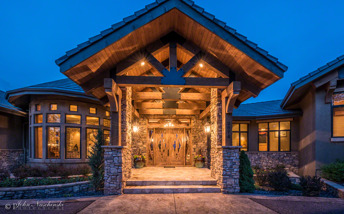 Front Entrance Luxury Home In Colorado Springs 01 Front Entrance Luxury Home In Colorado Springs 01
