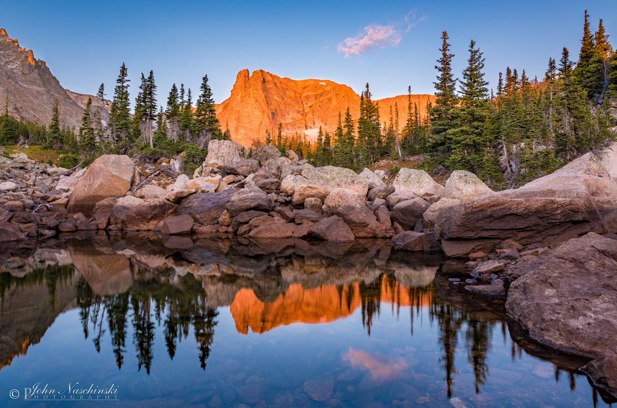 Notchtop mountain marigold pond rocky mountain national park alpenglow notchtop mountain reflection upon marigold pond rmnp photo 01 alpenglow notchtop mountain reflection upon marigold pond rmnp photo 01 sciox Image collections