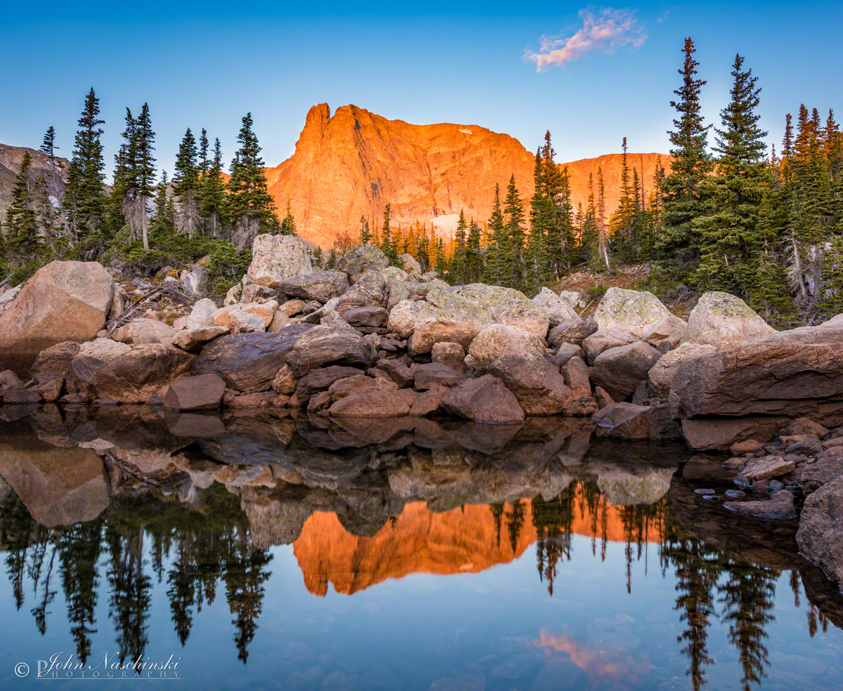Notchtop mountain marigold pond rocky mountain national park alpenglow notchtop mountain reflection upon marigold pond rmnp photo 02 alpenglow notchtop mountain reflection upon marigold pond rmnp photo 02 sciox Image collections